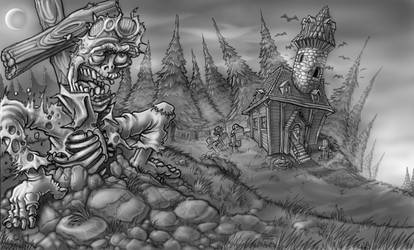 Zombie Awakening by TWOFLAG
