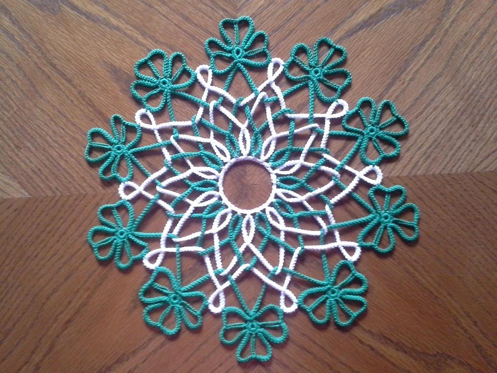 Free Crochet Shamrock Doily Pattern : Shamrock Doily by koepr5333 on DeviantArt