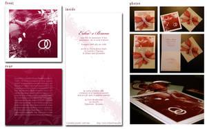 My Wedding invitation by abulafio