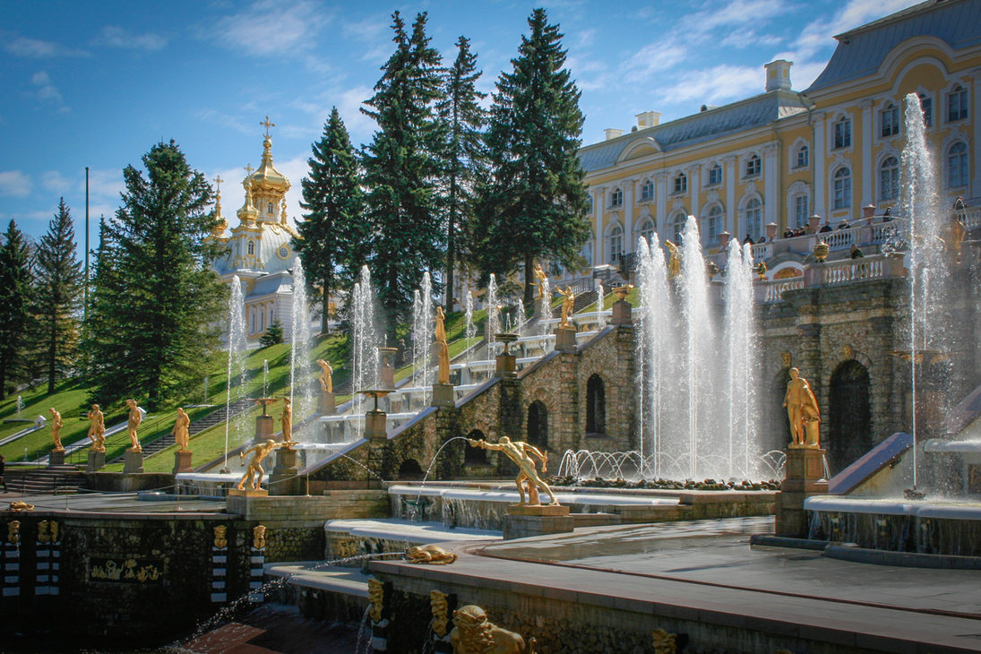 Peterhof by abulafio