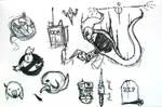 Ghostbusters Sketchs