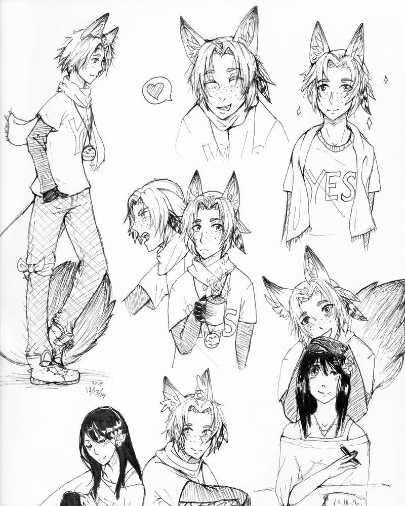 Sketch Dump: Thaddeus by Syao-sama