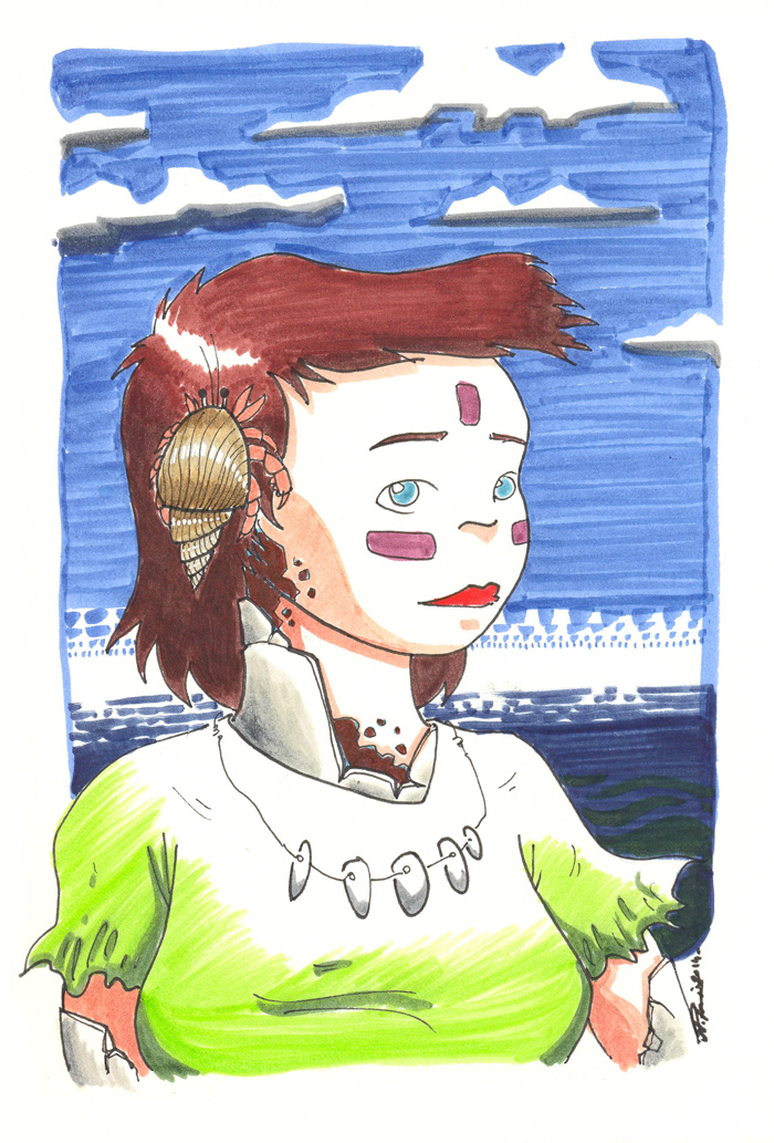 Bernadette lhermitte. by Anorya