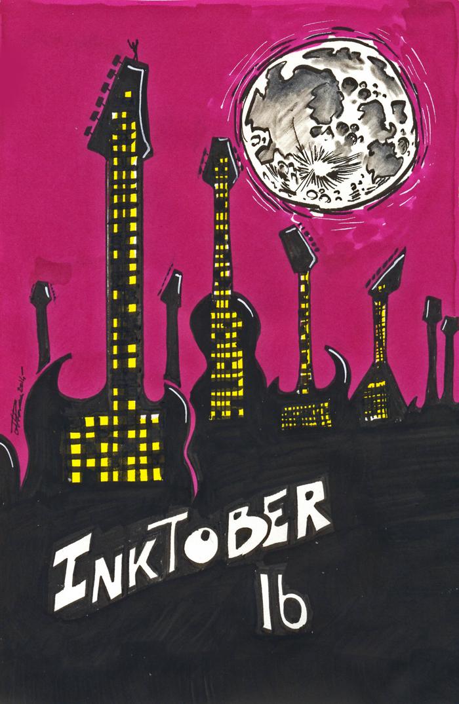 Inktober 2014 - 16 by Anorya