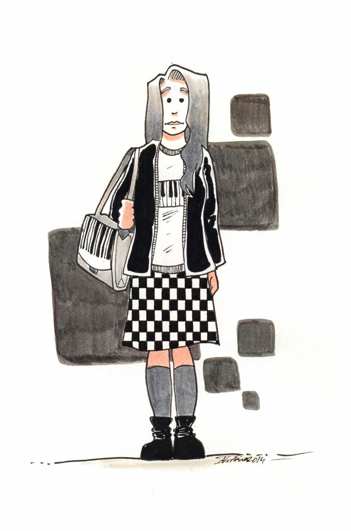 Black & White by Anorya