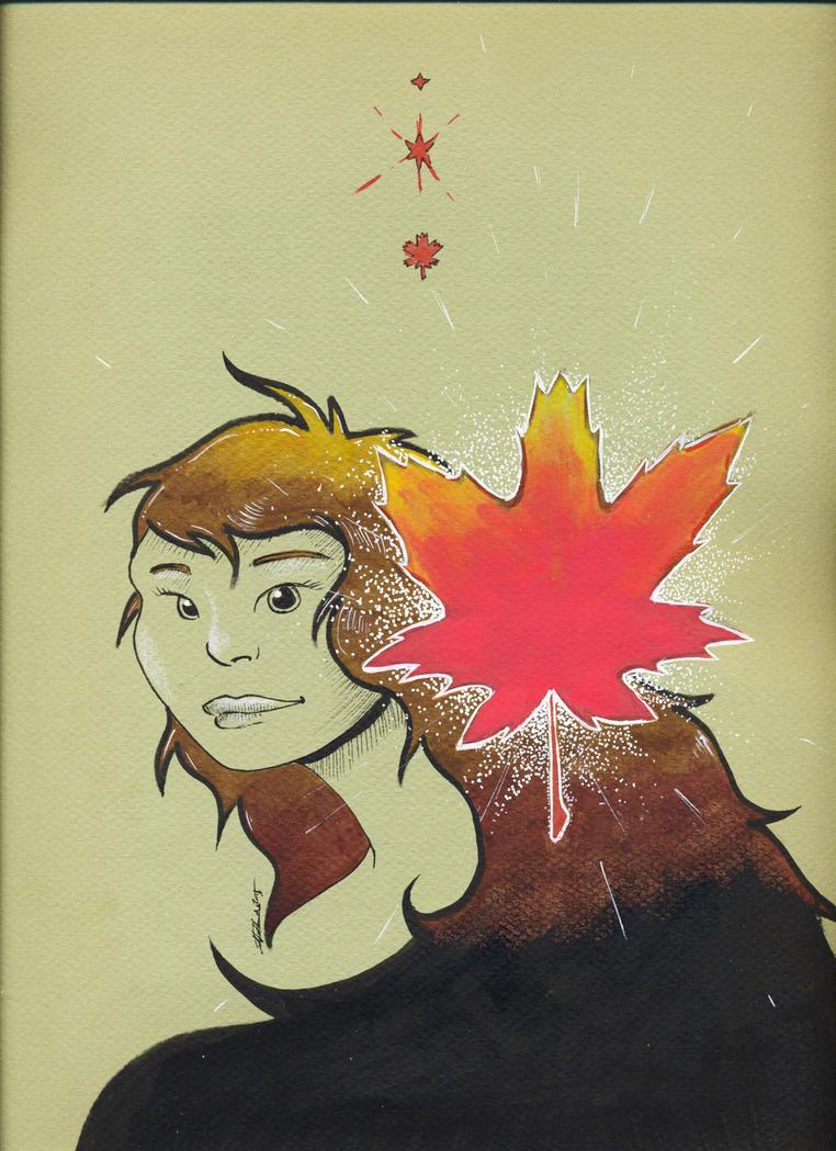 Spirit Of Autumn by Anorya