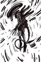 Alien little fanart 4 by Anorya