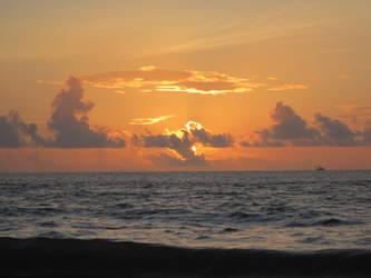 Tybee Island Sunrise 4 by graceofbass