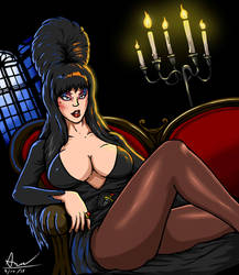 Elvira, Mistress Of Dark by alextrinidad