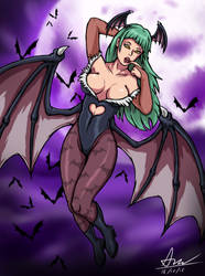 Morrigan by alextrinidad