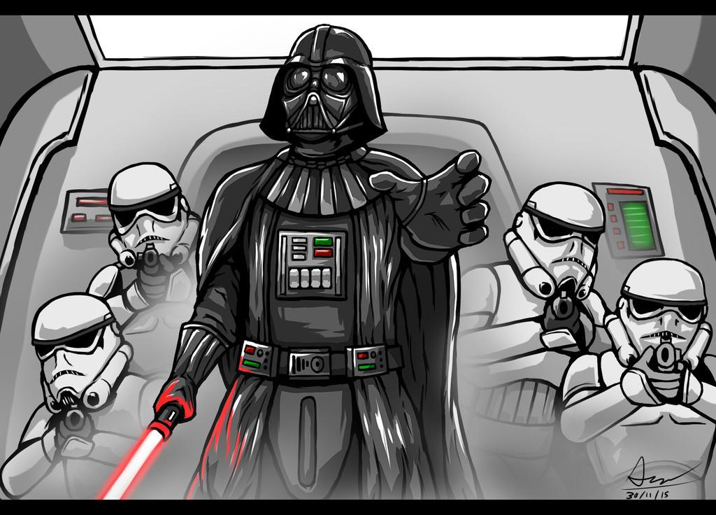 Darth Vader by alextrinidad