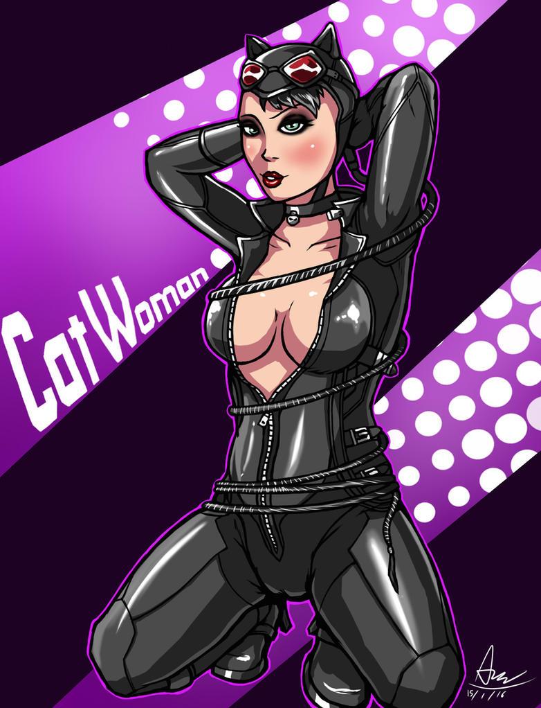 Catwoman by alextrinidad