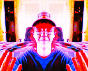 Manipulated Selfie 297: I Am (Not) The Lord by TheSkull31