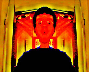 Manipulated Selfie 308: Dirge Inferno by TheSkull31