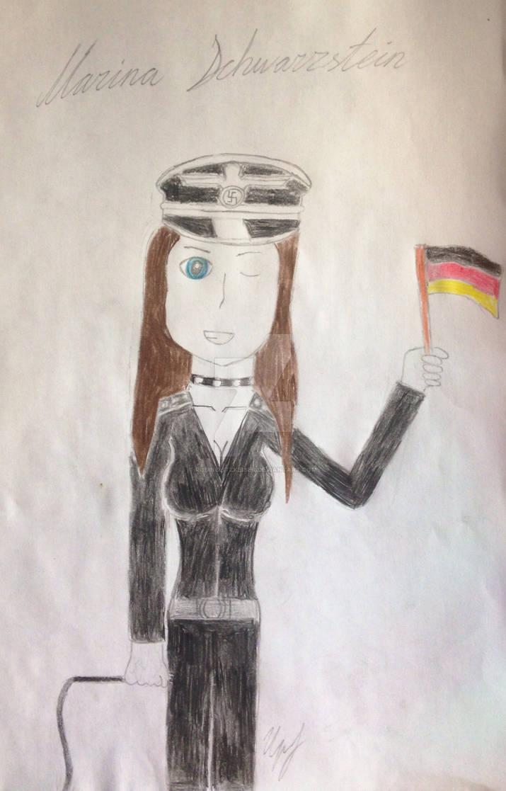 Marina Schwarzstein (original by RubinBlitzKaiser) by TheSkull31