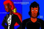 Karen and Darren Geronimo (Ankoku-Neko2 version)