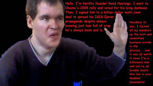 Reed Hastings, Gaylord Conspirator and Obamatard by TheSkull31