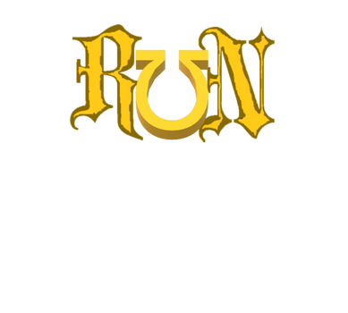 RUN (official metal project logo, June 2019 -) by TheSkull31