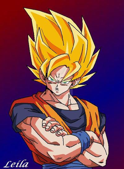Goku SSJ by Leila490