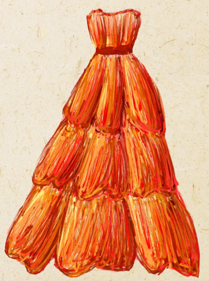 Fire Goddess Dress By Eleanor X On Deviantart
