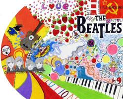 The Beatles by Arbeeroro