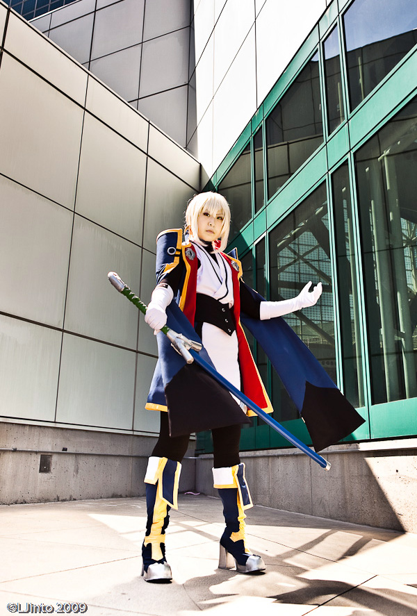 JIN KISARAGI BLAZBLUE by die-chan