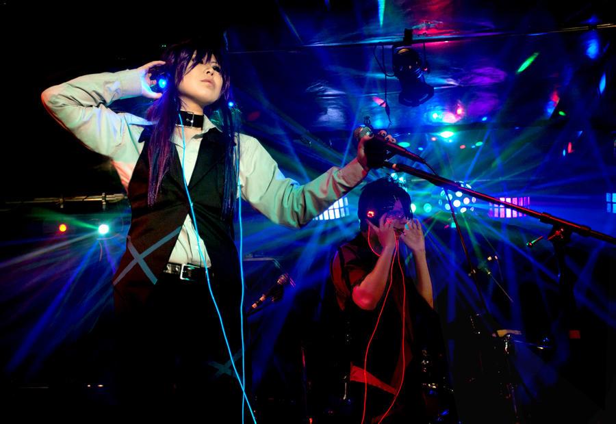 Dekiwaku Live  VOCALOID II by die-chan
