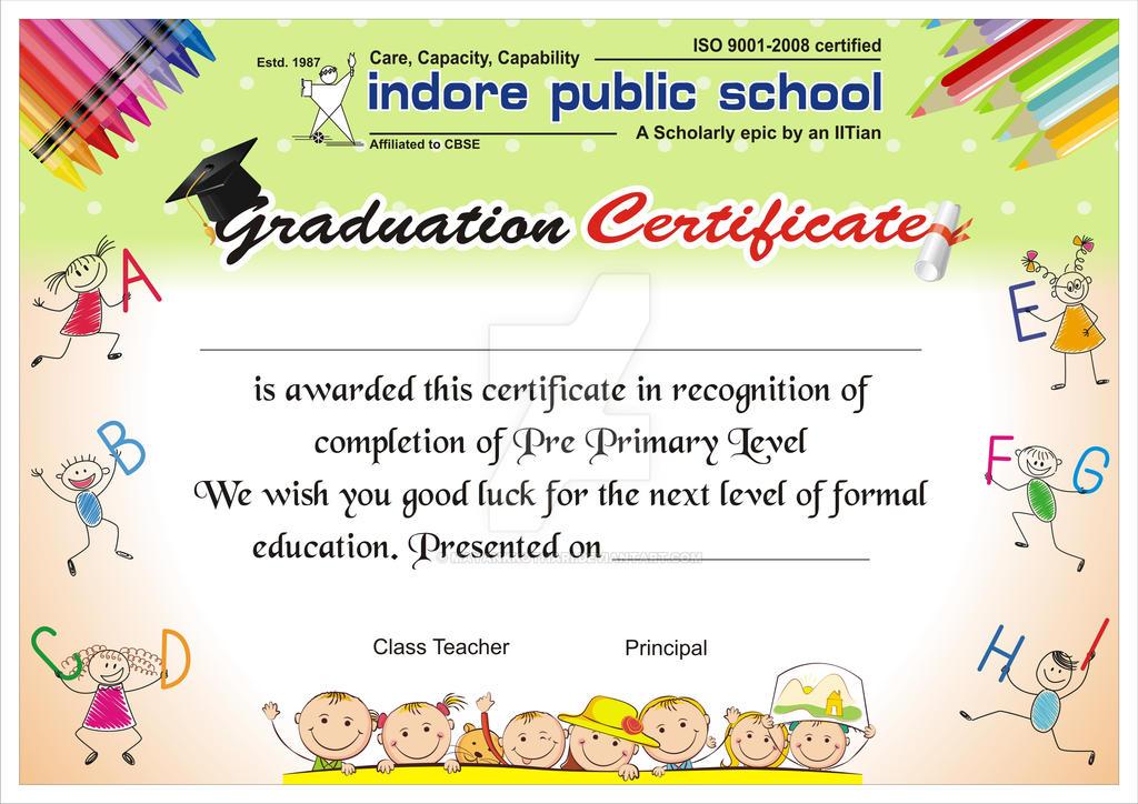 Ips Graduation Certificate By Mayankkothari On Deviantart