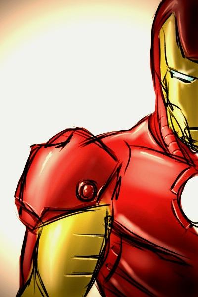 Iron Man Iphone Sketch By Sheldongoh On Deviantart