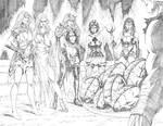 Zenescope Bad Girls - Grimm Fairy Tales#70 pg22-23