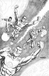 Green Lanterns - commission