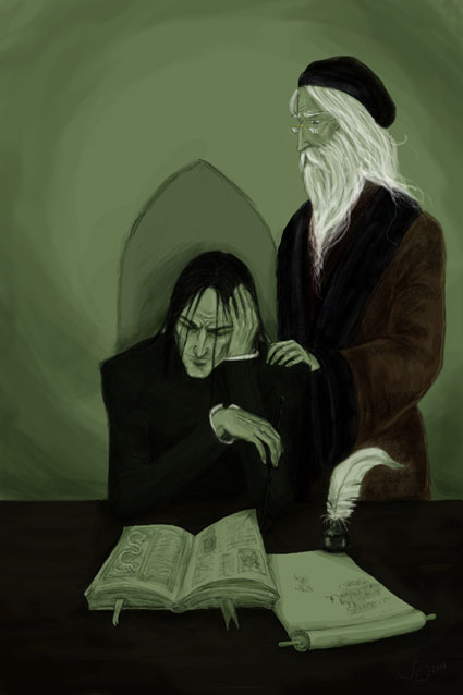 snape and dumbledore relationship problems