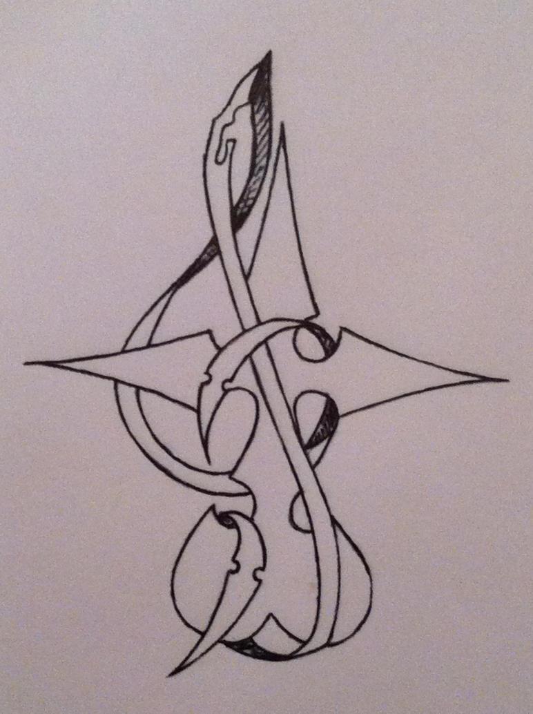 Nobody Tattoo Design by NoirSan