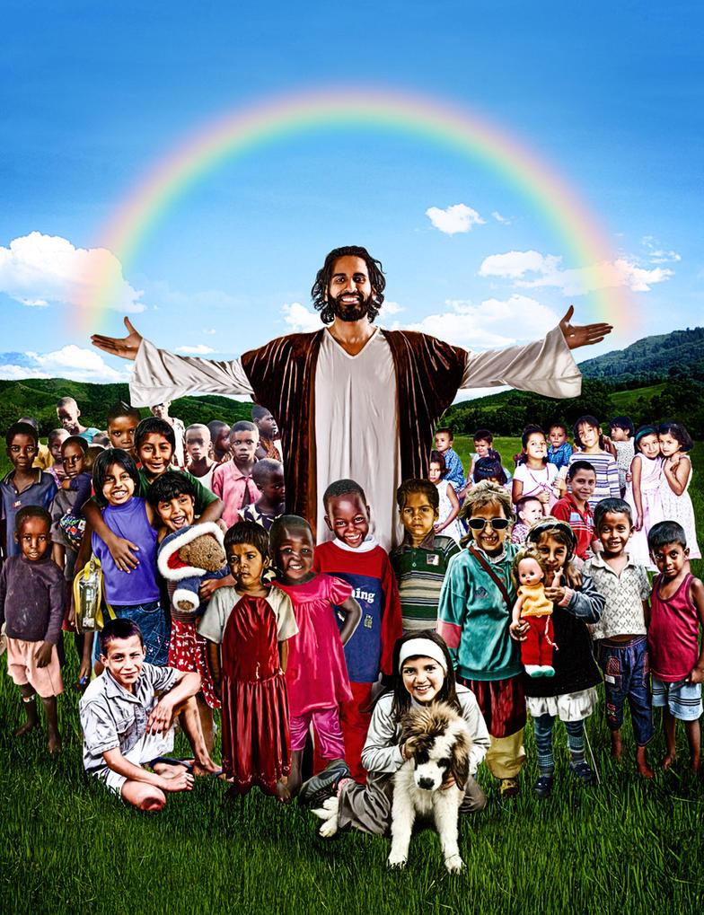 JESUS LOVES ALL CHILDREN - GOD'S HOTSPOT