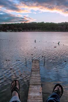 Lake Dock + Feet, MI
