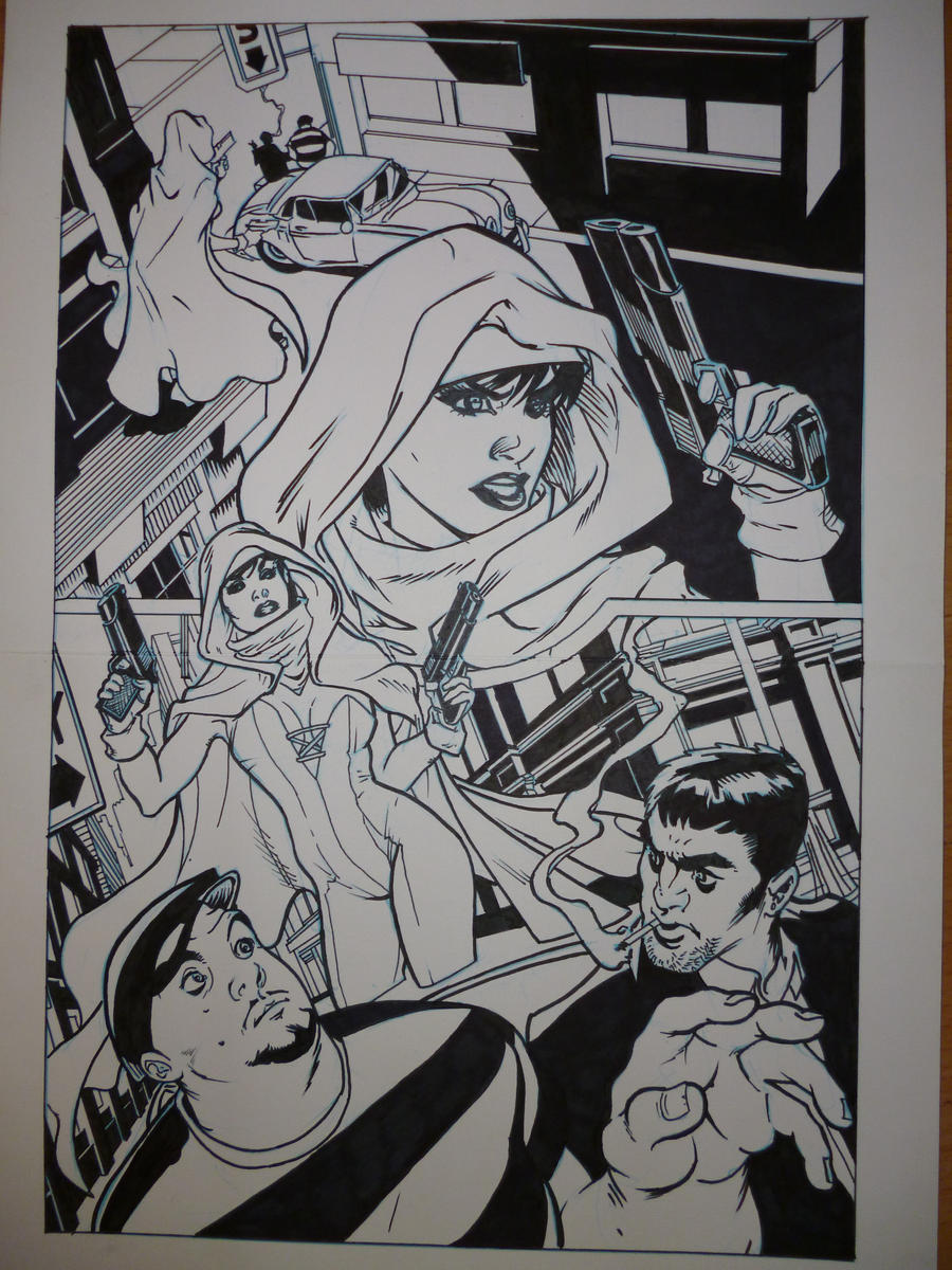 Ghost inking sample page 1 by seanwaterfield
