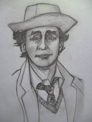 THE SEVENTH DOCTOR- SYLVESTER MC COY by seanwaterfield