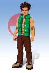 Brock - Pokemon Character Art