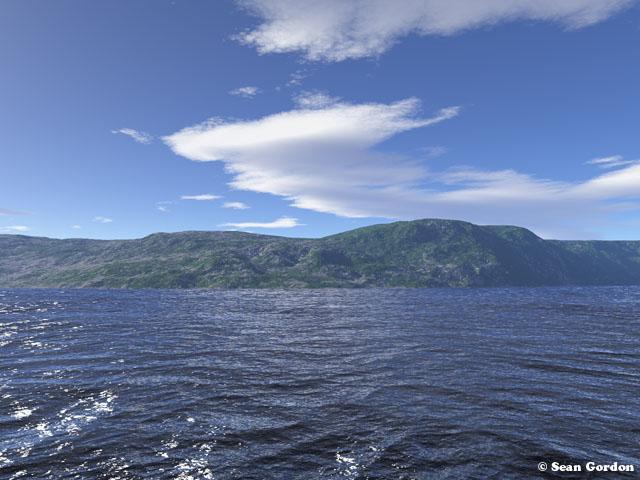 Water Landscape by InvertedOblivion