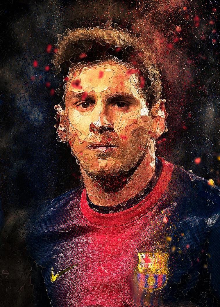 Gods of Sport: Messi by lordbunty