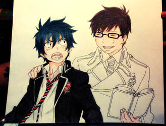Blue Exorcist by moniicus