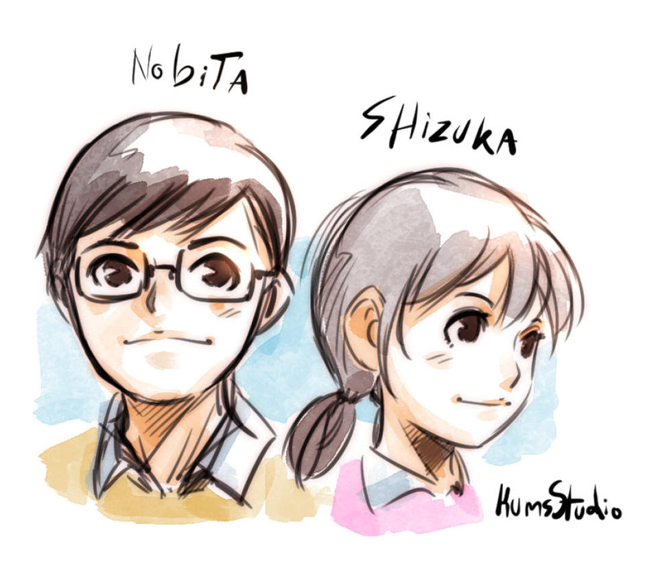 Nobita Shizuka By Kumsmkii On DeviantArt