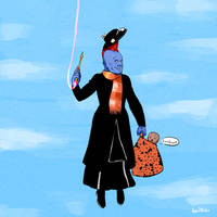I am mary poppins by Kumsmkii