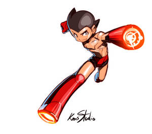 Atom Astroboy doodle