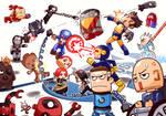 Marvel Toy Xmen vs Avenger