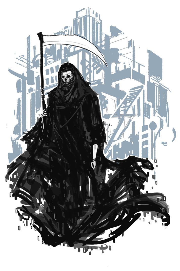 Digital Death by MewmewUniverse