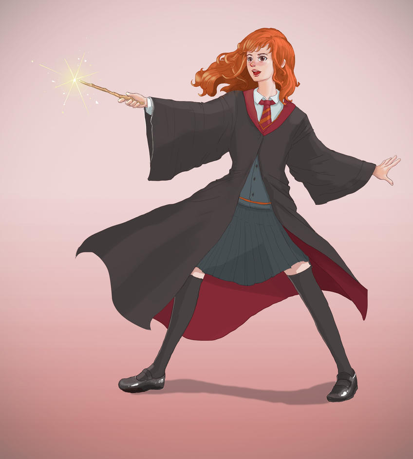 Hermione by MewmewUniverse