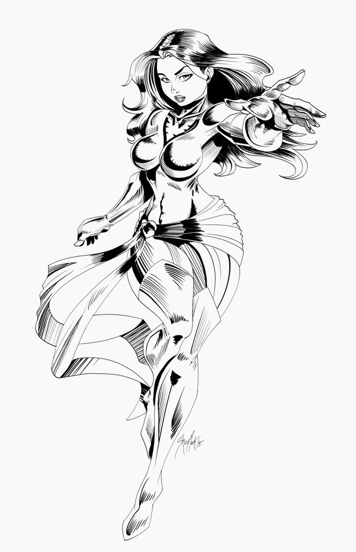 Jean Grey Lines by Dranos