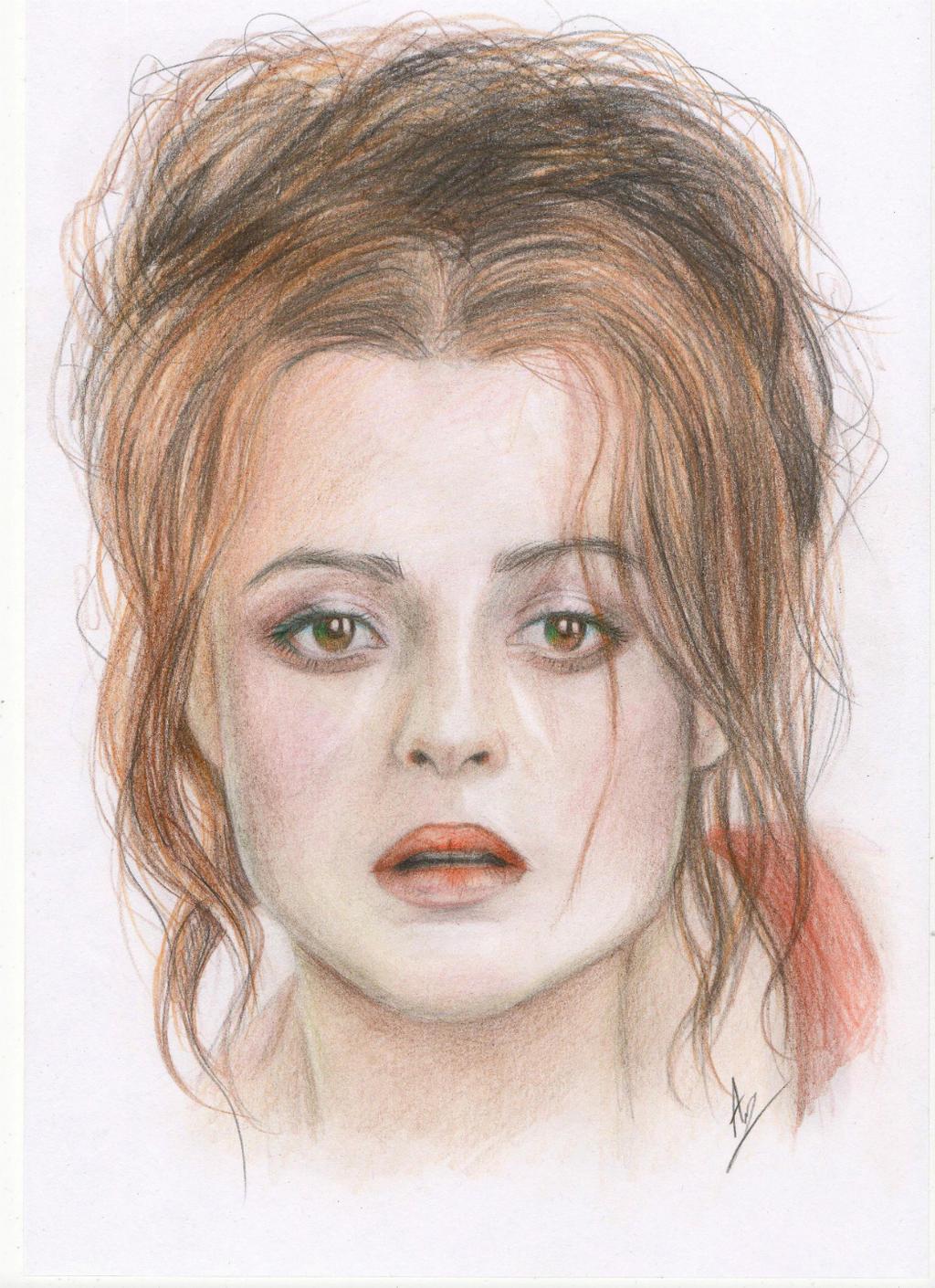 Helena Bonham Carter by AlinaWhat