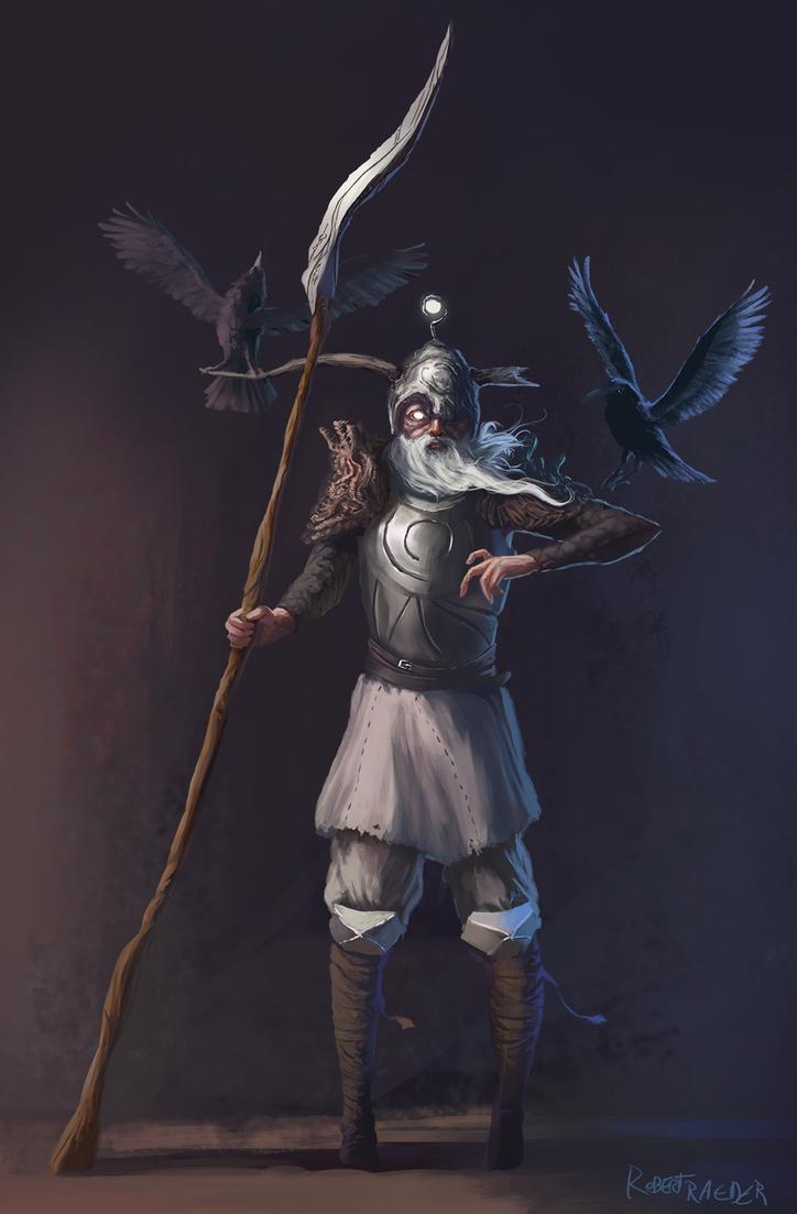 Odin by Raedrob